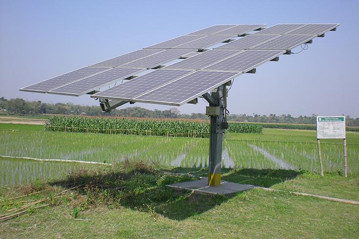 Solar PV Irrigation System